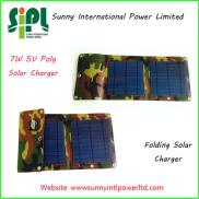 CE/ROHS Foldable  Solar Mobile Charger , solar Cha Manufacturer