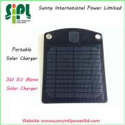 Fast Charging 3w  Solar  Panel  Solar Power Charge Manufacturer