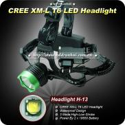 Goldrunhui RH-H0035 1200Lm Headlight T6 3 Mode Sup Manufacturer