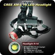 Goldrunhui RH-H0036 Rechargeable T6 Led Headlights Manufacturer
