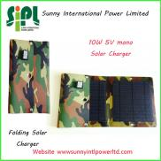 New Type 2014 10W Portable Foldable  Solar  Energy Manufacturer
