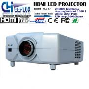 HD Portable  LED  Home Theater  LCD  Projector, HD Manufacturer