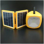 3W Double Panel Eco-friendly Portable Solar  Light Manufacturer
