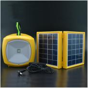 3W Double Panel Portable  Camping  Led Solar  Ligh Manufacturer