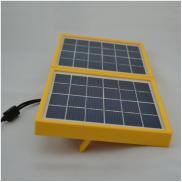 3W Double Panel Portable Solar  Camping Light  For Manufacturer