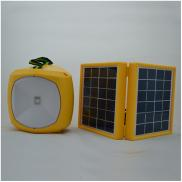 Factory Supply 3W Double Panel Portable Led Solar  Manufacturer