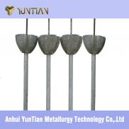 YUNTIAN Refractory Slag Limiting Dart With Good Qu Manufacturer