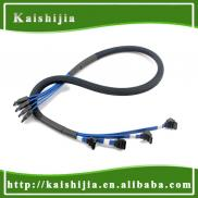 Variable Color Sleeving Serial Sata Data Cable Manufacturer