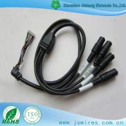 DC Female Cable With Right Angle Housing Harness T Manufacturer