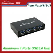 Full Aluminum Case USB 3.0 Hub 4 Ports For Card Re Manufacturer