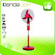 Royal Table Rechargeable Fan With Led Hot Sell In  Manufacturer