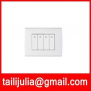 4 Gang 1 Way ,4 Gang 2 Way Wall Switch.we Are Fact Manufacturer