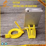 Cheap  Colorful Noodle Flat Micro Usb Data Cable  Manufacturer