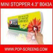Battery Powered  LCD  Advertising  Player  4.3inch Manufacturer