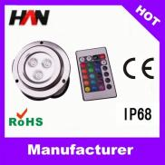 DC12-24V Stainless Steel RGB Stainless Steel Garde Manufacturer