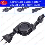European Style Retractable Power Cords With Molded Manufacturer