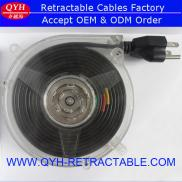Strong Retractable Cable Reel Power Extension AC C Manufacturer