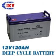 Super-long Life Deep Cycle Gel Battery Solar 120ah Manufacturer