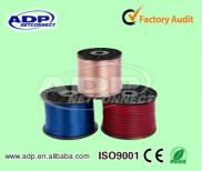 1.5mm Pure  Copper  Speaker Wire 12 Gauge Speaker  Manufacturer