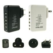 New Mobile Phone  Chargers  3 Plugs 6 USB Ports Wa Manufacturer