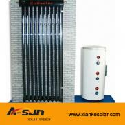 Split  Solar Energy  Heating  System  Heat Pipe Va Manufacturer