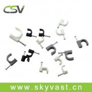 CSV 12mm Coaxial Cable Clip With PE Manufacturer