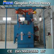 China Shot Blasting Machine /Double Hook Continuou Manufacturer