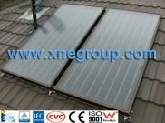 Enamel  Solar  Water Heater With  Flat  Panel  Sol Manufacturer
