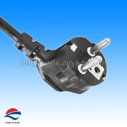 Euro Type Flexible AC  Power Cord  VDE Approval Manufacturer