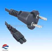 Europe 2 Poles Tools  Power  Plug With C7  Cord  Manufacturer