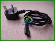 Figure Of 8 Mains Cable /  Power  UK Lead Plug  Co Manufacturer