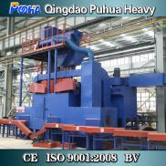 H Beam Cleaning Equipment Steel Plate Shot Blast M Manufacturer