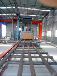 Large H Beam Roller Conveyor Type Shot Blasting Ma Manufacturer