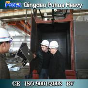 Q378 Double Hook Type Shot Blasting Cleaning Machi Manufacturer