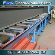 Roller Conveyor Pass Through Type H Beam Shot Blas Manufacturer