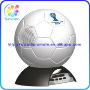 Soccer Style Speaker With Led And FM Radio Manufacturer