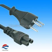 Switzerland 3pin Used Computer  Power Cords  With  Manufacturer