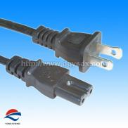 UL 2Pin International  Power  Plugs With C7  Cord  Manufacturer