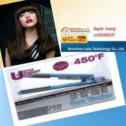 Ustyle Curl Flat Iron/ Plancha/Plancha Cabello Pro Manufacturer