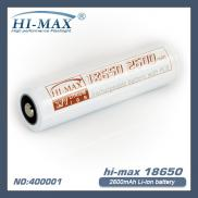 2600mAh 18650 Lithium Battery For 18650 Vaporizer Manufacturer