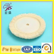 One Side Backing Velcro Polishing Pads / Wool Pads Manufacturer