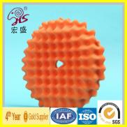 Wave Velcro Backing Car Polishing Bonnets Manufacturer