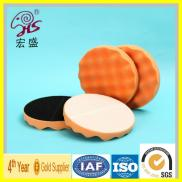 Wave Velcro Sponge Polishing Pads China Manufacturer