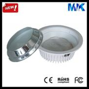 18w Round Die-cast Aluminum  Ceiling Led Downlight Manufacturer