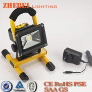 2014 New Product  Led Work Light  Rechargeable 10w Manufacturer