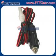 High Quality 2-Pin 2-Wire CB Radio  Power Cord  ,  Manufacturer
