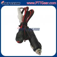 High Quality Lighter  Power Cord  3 Pin 16 AWG , 1 Manufacturer