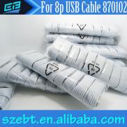 8 Pin USB  Cable  Charger For  Data  Transmission  Manufacturer