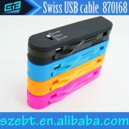 Colorful OEM Swiss USB  Data  Transmission USB  Ca Manufacturer