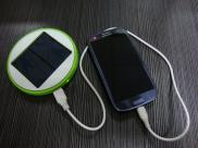 MIni Cheaper Round  Solar Mobile  Phone  Charger  Manufacturer